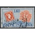 ITALY - 1951 60L blue/orange-red Anniversary of Sardinian Stamps, used – Michel # 847