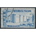 ITALY - 1952 60L blue Milan Fair, used – Michel # 859