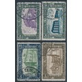 ITALY - 1930 National Militia set of 4, used – Michel # 333-336