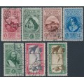 ITALY - 1932 Giuseppe Garibaldi airmail & express set of 7, used – Michel # 401-407