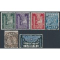 ITALY - 1923 Anniversary of the March on Rome set of 6, used – Michel # 177-182