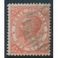 ITALY - 1863 2L orange King Vittorio Emanuele II, used – Michel # 22