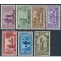 ITALY - 1931 St. Antonio set of 7, MH – Michel # 362-368