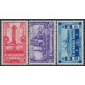 ITALY - 1931 Maritime Academy set of 3, MH – Michel # 369-371