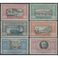 ITALY - 1923 Death of Alessandro Manzoni set of 6, MH – Michel # 188-193