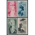 ITALY - 1934 Football World Cup airmail set of 4, MH – Michel # 484-487
