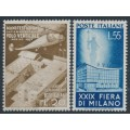 ITALY - 1951 Milan Fair set of 2, MNH – Michel # 830-831