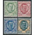 ITALY - 1926 25c to 2.50L King Vittorio Emanuele III set of 4, MH – Michel # 240-243