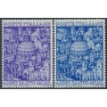 ITALY - 1950 Holy Year (L'Anno Santo) set of 2, MNH – Michel # 793-794