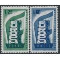 ITALY - 1956 EUROPA set of 2, MNH – Michel # 973-974
