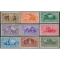 ITALY - 1930 15c to 10L+2.50L Virgil set of 9, MH – Michel # 345-353