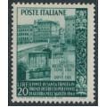 ITALY - 1949 20L deep green Ponte di Santa Trinita, MNH – Michel # 787