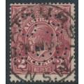 AUSTRALIA - 1924 2d red-brown KGV Head, single watermark, perf. OS NSW, used – ACSC # 97Abb
