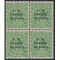 AUSTRALIA / NWPI - 1919 ½d bluish green KGV Head, LM watermark, B/4 with a variety, MH/MNH – SG # 119