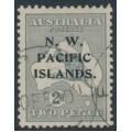 AUSTRALIA / NWPI - 1919 2d grey Kangaroo, die I, 3rd watermark, used – SG # 106