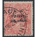 AUSTRALIA / NWPI - 1922 2d pale rose-red KGV Head, single watermark, perf. OS, used – SG # O19