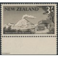 NEW ZEALAND - 1960 3/- blackish brown Tongariro National Park, MNH - SG # 798
