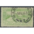 NEW ZEALAND - 1925 ½d yellow-green/green Dunedin Exhibition, used – SG # 463