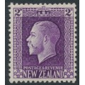 NEW ZEALAND - 1915 2d bright violet KGV definitive, perf. 14:13½, MH – SG # 417