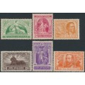 NEW ZEALAND - 1920 Victory set of 6, MH – SG # 453-458
