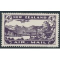 NEW ZEALAND - 1931 4d blackish purple Airmail, mint never hinged – SG # 549
