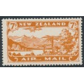 NEW ZEALAND - 1931 7d brown-orange Airmail, mint never hinged – SG # 550