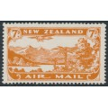 NEW ZEALAND - 1931 7d brown-orange Airmail, mint hinged – SG # 550