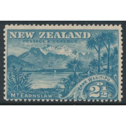 NEW ZEALAND - 1898 2½d blue Lake Wakitipu, perf. 15:15, no watermark, MH – SG # 249a