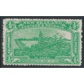 NEW ZEALAND - 1906 ½d emerald-green NZ Exhibition, mint hinged – SG # 370