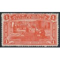 NEW ZEALAND - 1906 1d vermilion NZ Exhibition, mint hinged – SG # 371