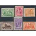 NEW ZEALAND - 1920 ½d to 1/- Victory set of 6, mint hinged – SG # 453-458