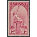 NEW ZEALAND - 1932 1d+1d carmine Health Stamp, MNH – SG # 552