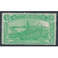 NEW ZEALAND - 1906 ½d emerald-green NZ Exhibition, mint hinged – SG # 370
