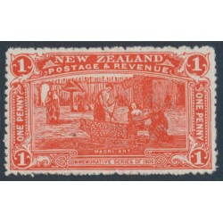 NEW ZEALAND - 1906 1d vermilion NZ Exhibition, MH – SG # 371