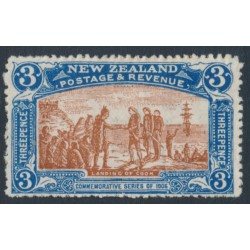 NEW ZEALAND - 1906 3d brown/blue NZ Exhibition, MH – SG # 372