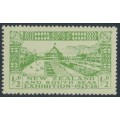 NEW ZEALAND - 1925 ½d yellow-green/green Dunedin Exhibition, MH – SG # 463