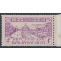 NEW ZEALAND - 1925 4d mauve on pale mauve Dunedin Exhibition, MH – SG # 465