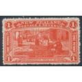NEW ZEALAND - 1906 1d vermilion NZ Exhibition, mint hinged – SG # 371