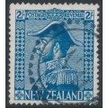 NEW ZEALAND - 1927 2/- light blue King George V (Admiral), used – SG # 469