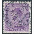 NEW ZEALAND - 1927 3/- pale mauve King George V (Admiral), used – SG # 470
