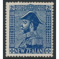 NEW ZEALAND - 1926 2/- deep blue King George V (Admiral), mint hinged – SG # 466w