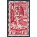 NEW ZEALAND - 1931 1d+1d scarlet Smiling Boy Health Stamp, MH – SG # 546