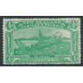NEW ZEALAND - 1906 ½d emerald-green NZ Exhibition, MH – SG # 370