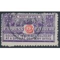 NEW ZEALAND - 1903 6d red/violet Express Delivery, perf. 11:11, used – SG # E1