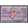 NEW ZEALAND - 1926 carmine/bright violet Express Delivery, perf. 14:14½, used – SG # E2