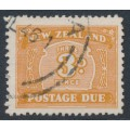 NEW ZEALAND - 1945 3d brown Postage Due, sideways inverted watermark, used – SG # D47a