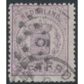 NETHERLANDS - 1870 2½c violet Coat of Arms, perf. 13¼, used – NVPH # 18C