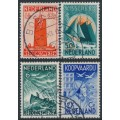 NETHERLANDS - 1933 Seamen's Fund Charity set of 4, used – NVPH # 257-260