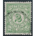 NETHERLANDS - 1884 2G light green Postbewijszegel, used – NVPH # PW3