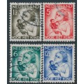 NETHERLANDS - 1934 Voor het Kind set of 4, used – NVPH # 270-273